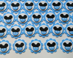 50 Apliques Do Mickey Mouse Baby