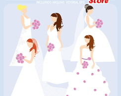 Kit Digital Scrapbook Casamento 03
