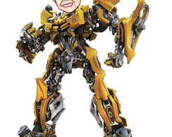 Caricatura - Transformers Bumblebee