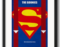 Quadro The Goonies Minimalista Paspatur