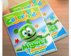 Revista Gummy Bear Personalizada