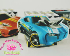 Caixa cubo Hot Wheels