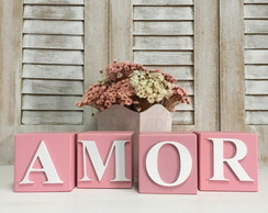 AMOR - Cubos Decor