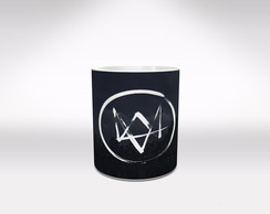 Caneca Watch Dogs mod 1