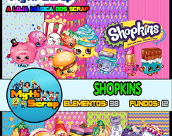 Kit Digital Scrapbook SHOPKINS