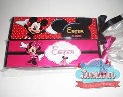 Dominó personalizado Mickey / Minnie