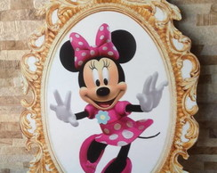 PLACA ELIPSE MINNIE ROSA