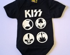 Body de Banda Kiss Baby