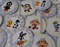 Topper Doces/cupcakes Baby Looney Tunes
