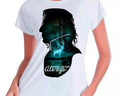 Camiseta Babylook Harry Potter Snape