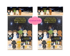 albun de figurinha star wars