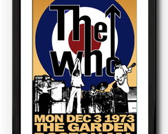 Quadro The Who - Banda Rock - Musica