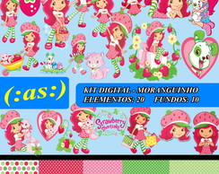 Kit Digital Scrapbook Moranguinho
