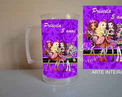 Caneca de Acrílico Ever After High