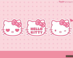 Painel Hello kitty 2,10 x 1,70m