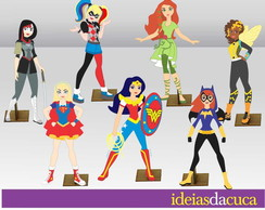Displays Festa Super Hero Girls Totens