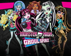Painel Monster High 2,00 x 1,00m