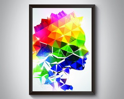 "Quadro ""Woman Colors"""