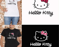 CAMISA BABY LOOK HELLO KITTY