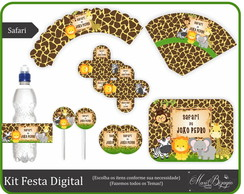 Kit Festa Digital - Safari