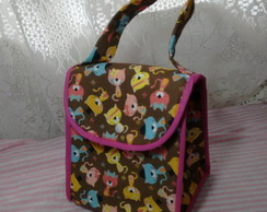 Lunch Bag com aba