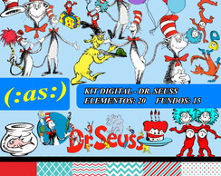 Kit Digital Scrapbook Dr Seuss