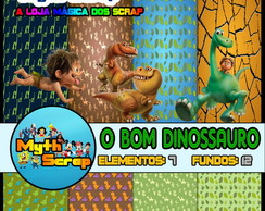 Kit Digital Scrapbook O BOM DINOSSAURO