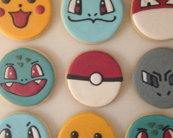 Biscoito Decorado: Pokemon