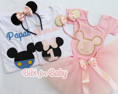 Combo Super Minnie Luxo Familia