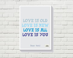 Quadro Love is all, love is you
