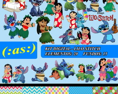 Kit Digital Scrapbook Lilo Stitch