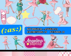 Kit Digital Scrapbook Angelina