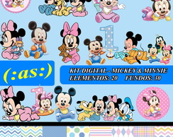 Kit Digital Mickey & Minie