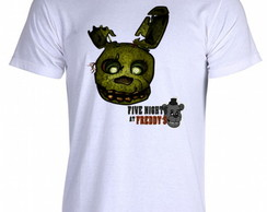 Camiseta FNAF Five Nigths at Freddy's X