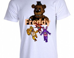 Camiseta FNAF Five Nigths at Freddy's A
