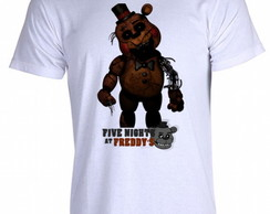 Camiseta FNAF Five Nigths at Freddy's D