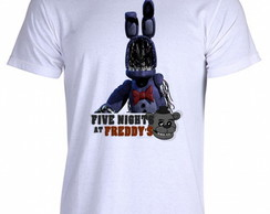 Camiseta FNAF Five Nigths at Freddy's C