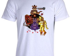 Camiseta FNAF Five Nigths at Freddy's O