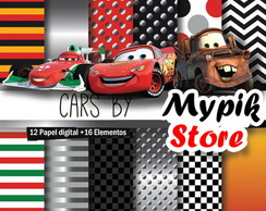 Kit Digital Carros da Disney - 22