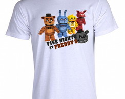 Camiseta FNAF Five Nigths at Freddy's V