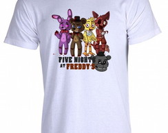 Camiseta FNAF Five Nigths at Freddy's Z