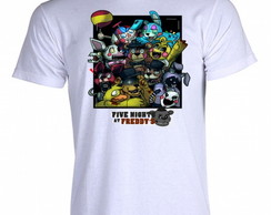 Camiseta FNAF Five Nigths at Freddy's Q