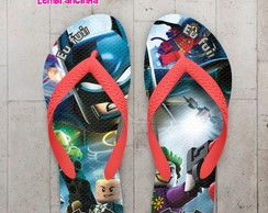 Chinelo Infantil, Lego do Batman
