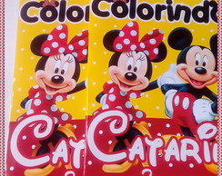 Revista para Colorir Minnie e Mickey Ver