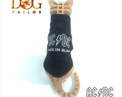 Camiseta Pet ACDC (PM e M)