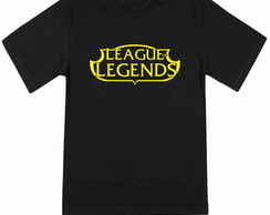 Camiseta Masculina League of Legends 100% Algodão