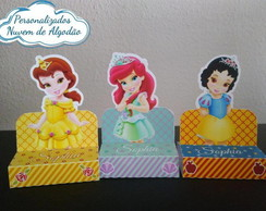 Porta Chocolate Duplo - Princesas Cute