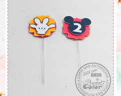 TOPPER P/ DOCES Mickey