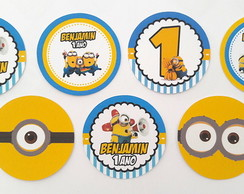 Toppers personalizados Minions