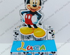 Porta chocolate duplo - Mickey Mouse